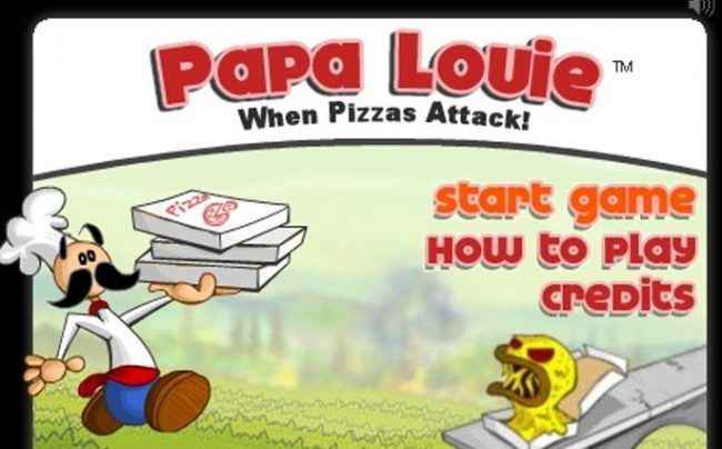 Papa Louie When Pizzas Attack Cool Math Games