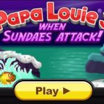 Papa Louie 3 When Sundaes Attack Warp Keys